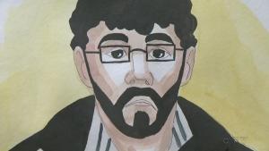 court sketch Ismael Habib