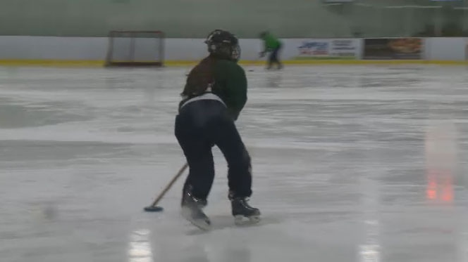 The sport of ringette has 30,000 players in Canada, mostly women, and is becoming increasingly popular around the world.