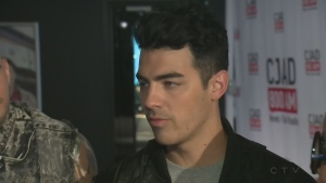 Joe Jonas and DNCE are in Montreal to promote their upcoming tour