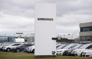 A Bombardier plant is shown in Montreal, Thursday, October 29, 2015. (Graham Hughes / The Canadian Press)