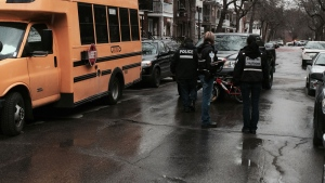 A boy was injured after a collision with a van in the Southwest borough.
