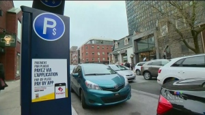CTV Montreal: New parking meter tech in Westmount