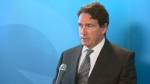 Parti Quebecois leader Pierre Karl Peladeau announced his retirement from politics on Monday, citing a choice between politics and his family.