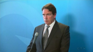 Pierre Karl Peladeau resigned from politics on May 2, 2016