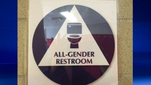 Westmount High School has created the first gender neutral washroom.