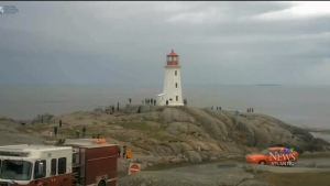 CTV Atlantic: Woman drowns off Peggy's Cove