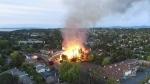 Massive fire deemed supsicous