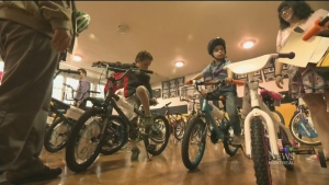 CTV Montreal: Bikes for young heroes