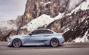 BMW debuts retro throwback '2002 Hommage' concept (Photo: BMW)