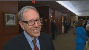 Irwin Cotler was honoured for his work in human rights.