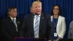 Donald Trump delivers keynote address