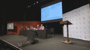 At Quebec Solidaire's annual convention, the party's members discussed how to attract new voters from across Quebec, including the Anglophone community.
