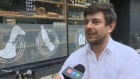 Maxime Tremblay, co-owner of 3734 in St. Henri, thinks the vandalism was misplaced.