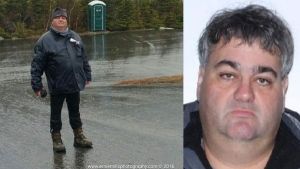 Portland CBS station WGME identified Francois Carrier with these photographs after he went missing (source: Ernie Mills photography)