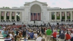 National Memorial Day ceremony