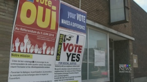 There will be a referendum over a zoning change to
