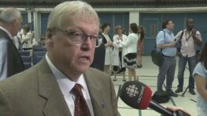 Health Minister Gaetan Barrette