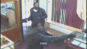 Richardson Francois and Jerry Theodore attempted to rob a jewelry store on Jan. 22, 2013