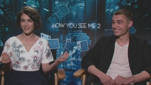 Lizzy Caplan, and Dave Franco star in Now You See Me 2