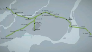The light-rail system won't be open until 2020 at the earliest but West Island residents expressed excitement for the project, which would bring commuters from Ste-Anne-De-Bellevue to downtown in 40 minutes.