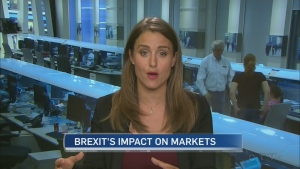 Kristina Partsinevelos of BNN on the negative impact of the UK's vote to leave the European Union.