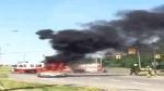 MyNews: Car bursts into flames in Ottawa