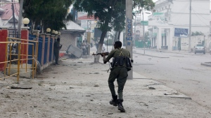 At least 14 killed in attack on Somali hotel