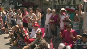 The annual Canada Day Parade brought out droves of