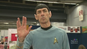 It's Spock! at Montreal Comiccon