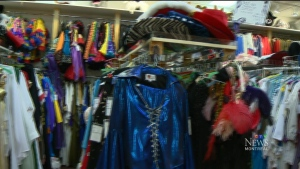 The owner of a popular costume rental store is loo