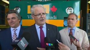 CTV Montreal: Money for Via Rail