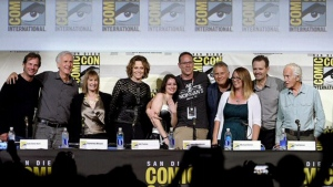 'Aliens' cast a perfect backdrop for this Comic-Co