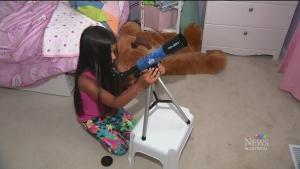 CTV Montreal: Girl applies to be astronaut
