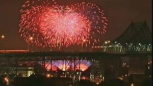 Jacques Cartier fireworks