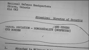 CFAO 19-20, which was revoked in 1992, meant LGBT people could not serve in the military. Though interrogations and dismissals, many ex-military still bear the emotional scars the policy left.