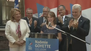 Naomie Goyette will represent the Liberal Party of Quebec in an upcoming byelection in the riding of St. Jerome.