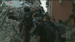 Following the earthquake in Italy, Montreal's ex-p
