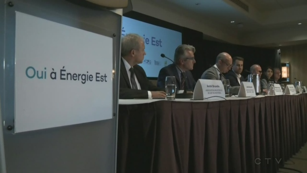 Leaders support Energy East