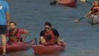 Justin Trudeau kayak
