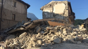 Images from a CTV News exclusive tour of the town of Arquata del Tronto, which was essentially wiped away in last Wednesday's earthquake.