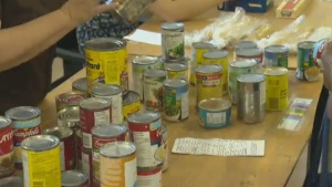 Food bank Moisson Montreal says rising costs for storing and transporting perishable items means they may have to start charging non-profits to use their services.