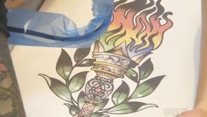 Canadian Jen Kish gets Rio 2016 tattoo
