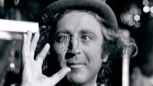 "This handout photo provided by Warner Bros. and the Library of Congress shows Gene Wilder as the mercurial Willy Wonka amused by one of his creations. Courtesy Warner Bros. ""Saving Private Ryan"" and ""Ferris Bueller's Day Off"" are among 25 movies being inducted this year into the National Film Registry for long-term preservation, the Library of Congress announced Wednesday. The library selected films for their cultural, historic or aesthetic qualities. This year's selections span the years 1913 to 2004. They include such familiar and popular titles as ""The Big Lebowski"" and ""Willy Wonka and the Chocolate Factory,"" while others were milestones in film history. (AP Photo/Warner Bros., Library of Congress)"