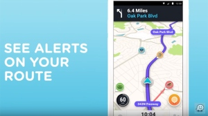 An image from a promotional video for Google's carpooling app Waze. (Google)