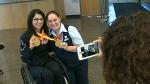 Paralympian politician criticized upon return