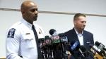 Charlotte police discuss Keith Scott case
