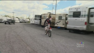 CTV Montreal: An extreme motorcycle race