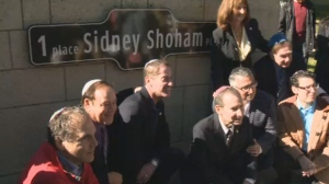 The Beth Zion Synagogue where Rabbi Sidney Shohan worked for over 50 years received a new address on Sunday, in a ceremony honouring the late spiritual leader.