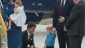 CTV News Channel: PM snubbed by Prince George