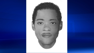 Montreal police released this sketch of the man who died in the Charlevoix metro station in April 2016